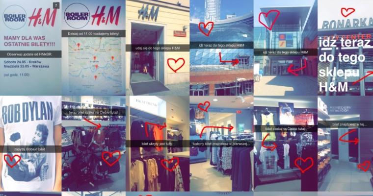 7 kreatywnych iinspirujących kampanii naSnapchacie - H&M