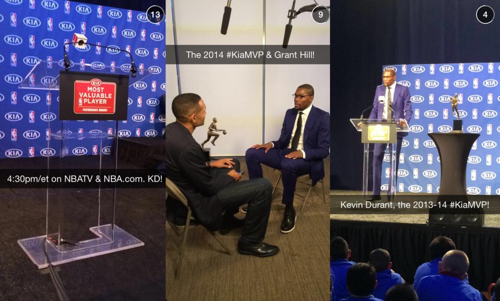 7 kreatywnych iinspirujących kampanii naSnapchacie - NBA