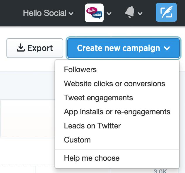 Reklamy naTwitterze - tworzenie kampanii