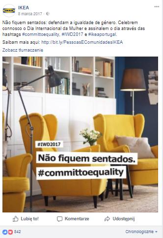Dzień Kobiet - Ikea Portugalia
