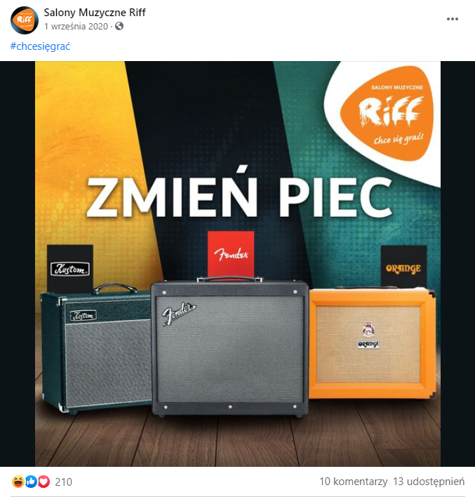 RTM Piec Riff